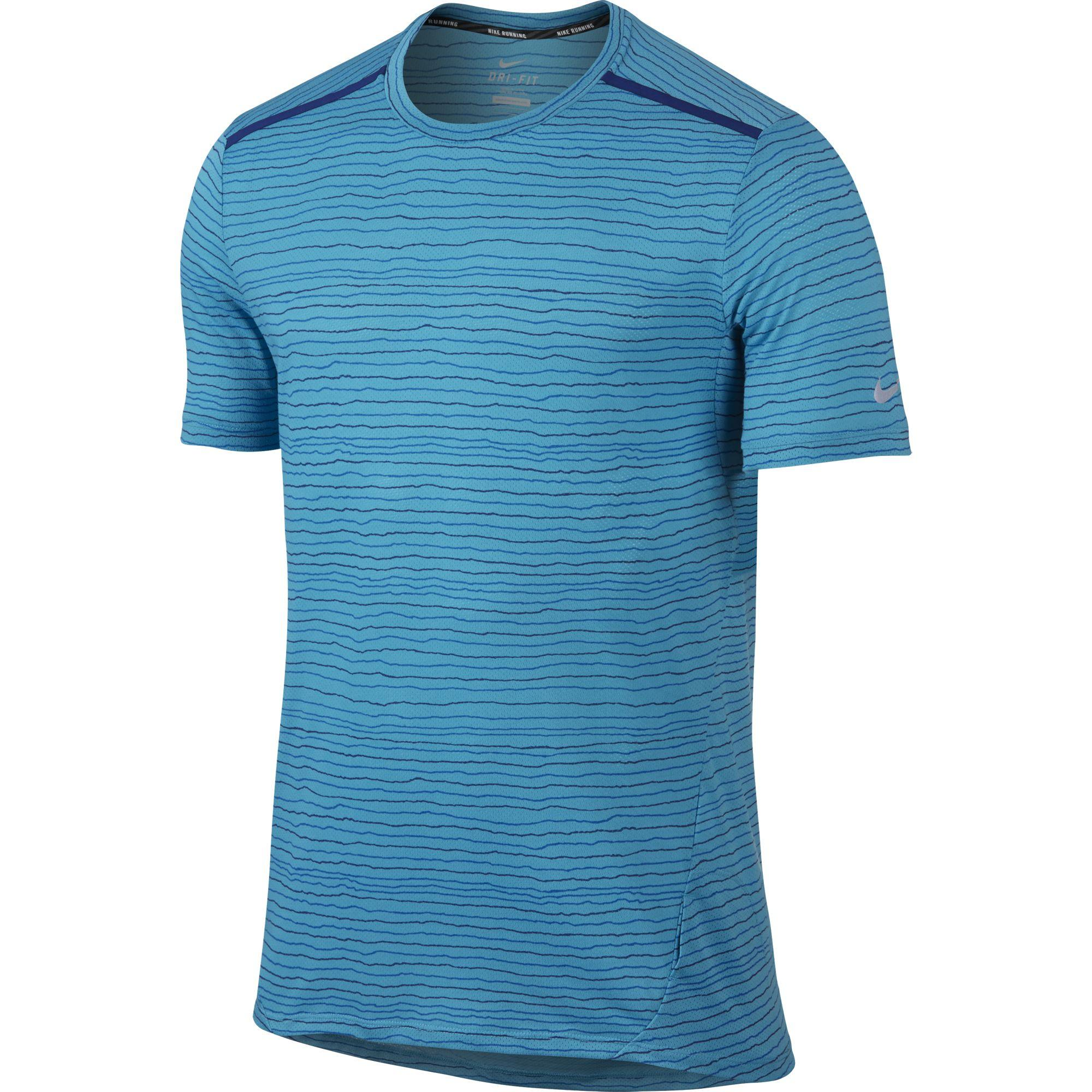 Nike Dri-FIT Cool Tailwind Stripe Short Sleeve 346725