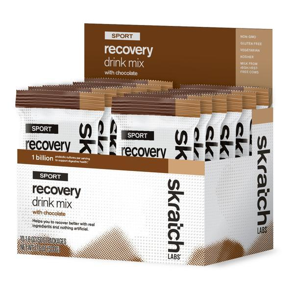 Skratch Labs Sport Recovery Drink Mix - Single Serving 10-pack 2503786